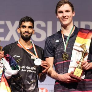 Srikanth loses in India Open final