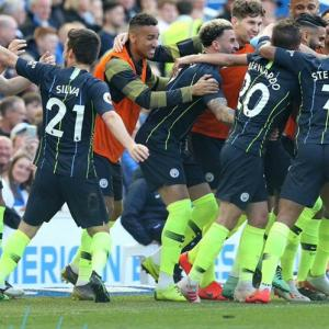 EPL: Ruthless City survive scare to retain title in style