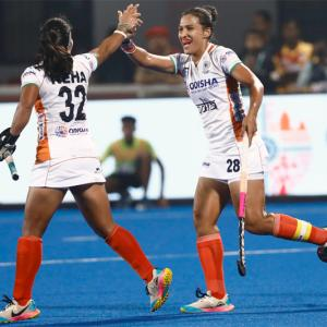 Olympic Qualifier: Indian women thrash US 5-1
