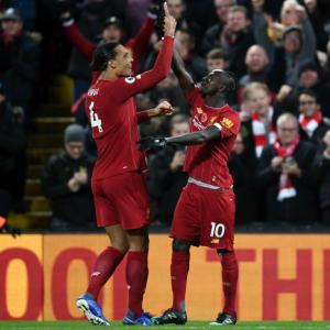 EPL PIX: Liverpool rout City to go eight points clear