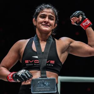 Ritu Phogat earns dominant victory in MMA debut