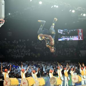 School kids light up NBA's maiden India game