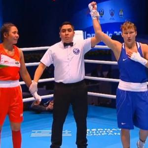 Boxing: Sarita bows out, India endures winless day