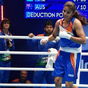 Mary Kom stopped by aggressive Turk in semis