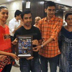 Gambhir to take care of 100 children of martyrs