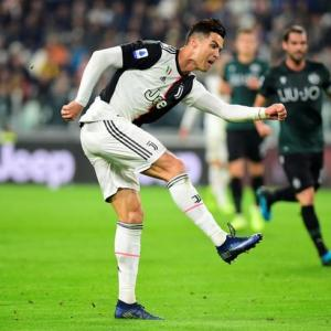 PICS: Ronaldo strikes as Juventus extend Serie A lead