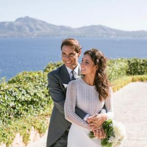Rafael Nadal's wedding pictures!
