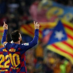 La Liga: Messi sends Barcelona top; Atletico held