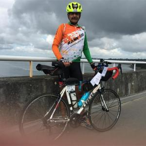 Indian Army officer guns for Paris cycling glory