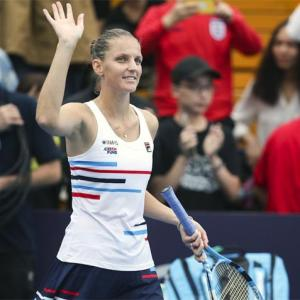 Tennis roundup: Pliskova wins her fourth title of 2019