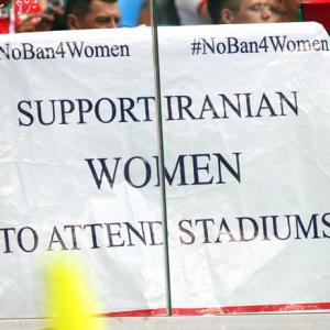 Time to allow women into stadiums: FIFA tells Iran