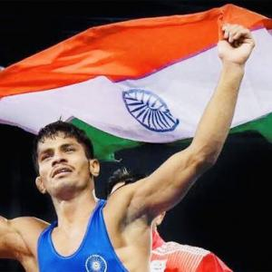 Wrestling Worlds: Rahul bags bronze, silver for Deepak