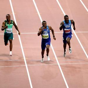 World Athletics: Coleman storms to 100 meters gold