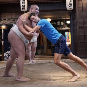 WATCH: Djokovic goes sumo wrestling in Japan