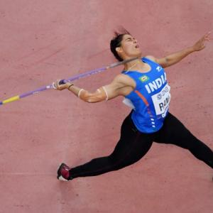 Worlds: Rani first Indian to make javelin throw final