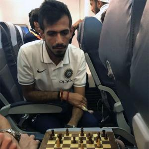 I had to choose between chess and cricket: Chahal