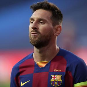 Messi contemplating Barcelona exit?