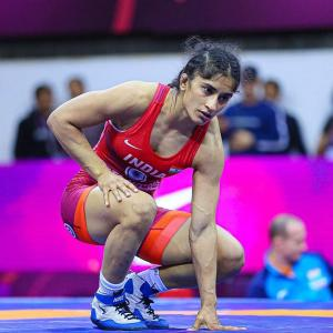 Wrestler Vinesh Phogat is COVID-19 positive