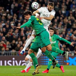 PHOTOS: Real Madrid, Barcelona dumped out of Cup