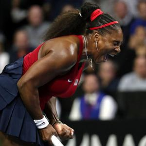 Fed Cup: Serena loses in singles but US survive