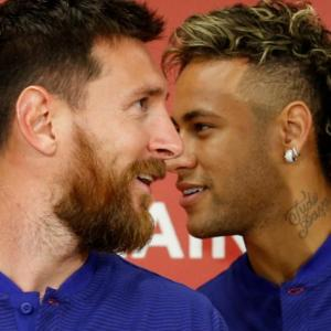 Neymar still wants to rejoin Barca says Messi