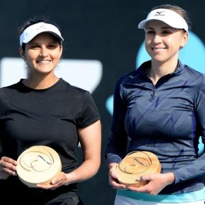 I was not as rusty as I had thought, says Sania Mirza