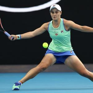 Barty proud of indigenous heritage after Aus Day win