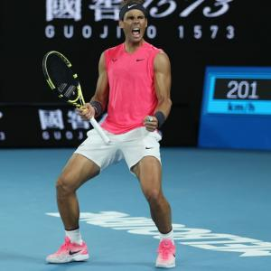 Nadal rides out Kyrgios challenge to reach quarters