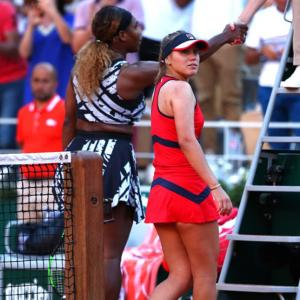 How Serena helped Kenin's career