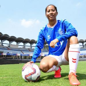 Meet India's first woman professional footballer