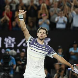 AO PHOTOS: Thiem slays Nadal, meets Zverev in semis