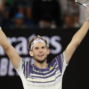 PHOTOS: Theim demolishes Zverev to make Aus Open final