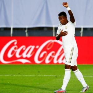 Real's Vinicius to retake COVID-19 test after error