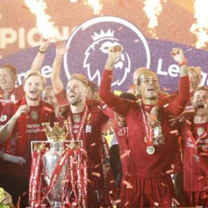 PICS: Liverpool celebrate long-awaited EPL title