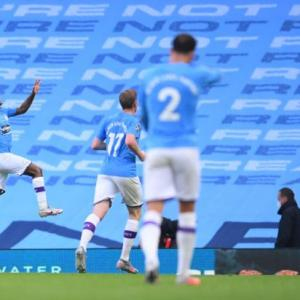 EPL PIX: City outclass Arsenal; Tech denies Sheffield