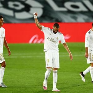 La Liga: Benzema strike crowns Real win; Sociedad lose