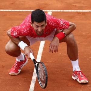Djokovic on vaccinations and tennis amid the pandemic
