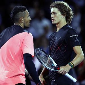 Kyrgios slams 'selfish' Zverev over partying video
