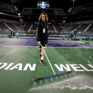 Indian Wells is first big US sports casualty of virus