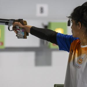 How Indian shooters are honing skills indoors