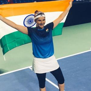 Sania first Indian to win Fed Cup Heart Award