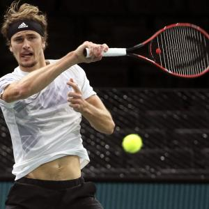 Zverev shocks Nadal in Paris Masters semis