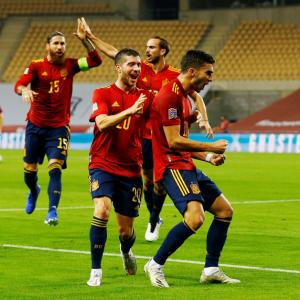 Nations League PIX: Spain maul Germany 6-0