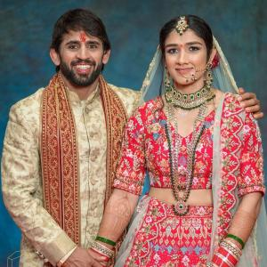 Wrestlers Bajrang and Sangeeta are now man and wife