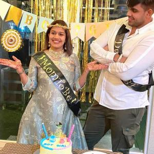 PIX: At Babita Phogat's baby shower