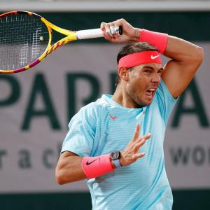 French Open PIX: Nadal, Thiem, Halep in fourth round