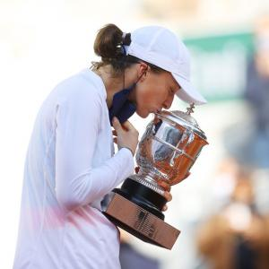 PICS: Poland's Swiatek wins French Open