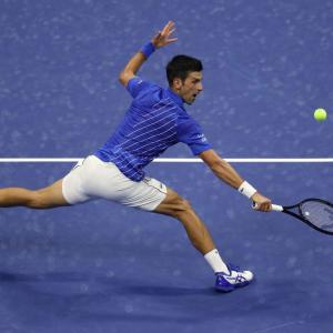 US Open: Djokovic breezes past Dzumhur into Round 2