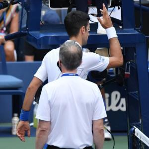 Kyrgios takes a dig at Djokovic
