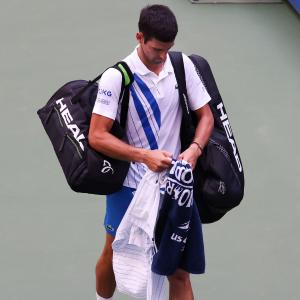 Djokovic 'sad and empty' after disqualification